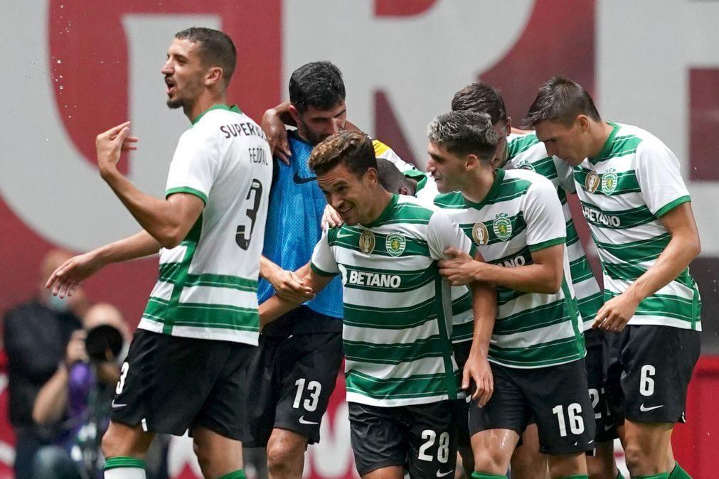 Sporting vence em Braga e lidera I Liga com Benfica