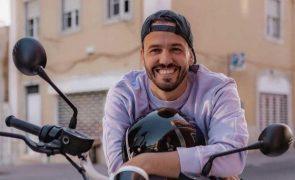 Pedro Teixeira escapa por pouco a acidente de mota