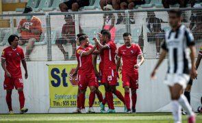 Golo de Samuel Lino dá vitória ao Gil Vicente em Portimão
