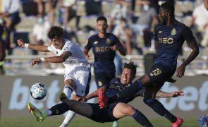 FC Porto vence Famalicão com 'bis' de Martinez e junta-se a Sporting e Benfica