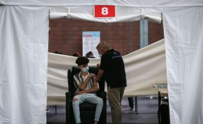 Covid-19: Mais de 153 mil jovens de 16 e 17 anos vacinados até às 18:50