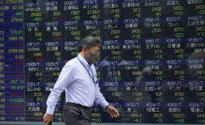 Bolsa de Tóquio fecha a perder 1,62%