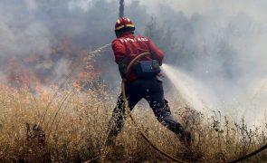 Incêndio em Castro Marim. Chamas obrigam à retirada de várias pessoas