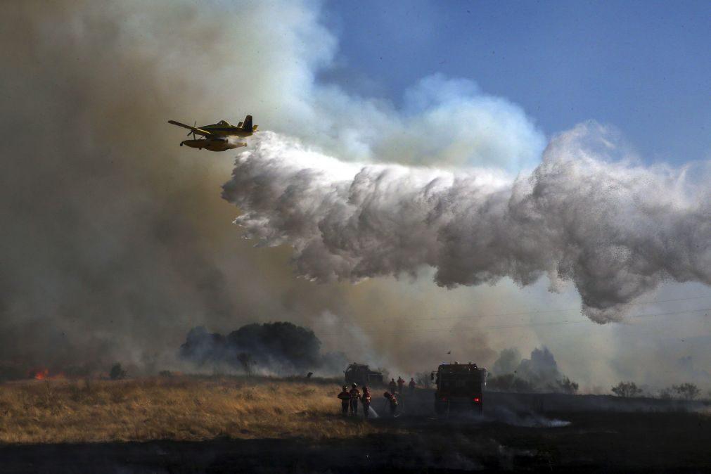 Incêndio no concelho de Castro Marim dominado às 10:20