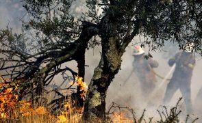 Incêndio em Castro Marim teve reativação forte