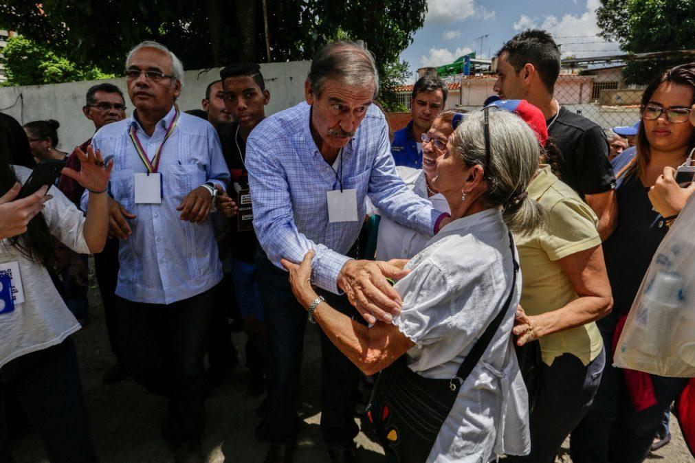 Venezuela: Governo declara ex-Presidente mexicano Vicente Fox