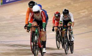 Maria Martins de prata na prova de eliminação sub-23  nos Europeus de ciclismo