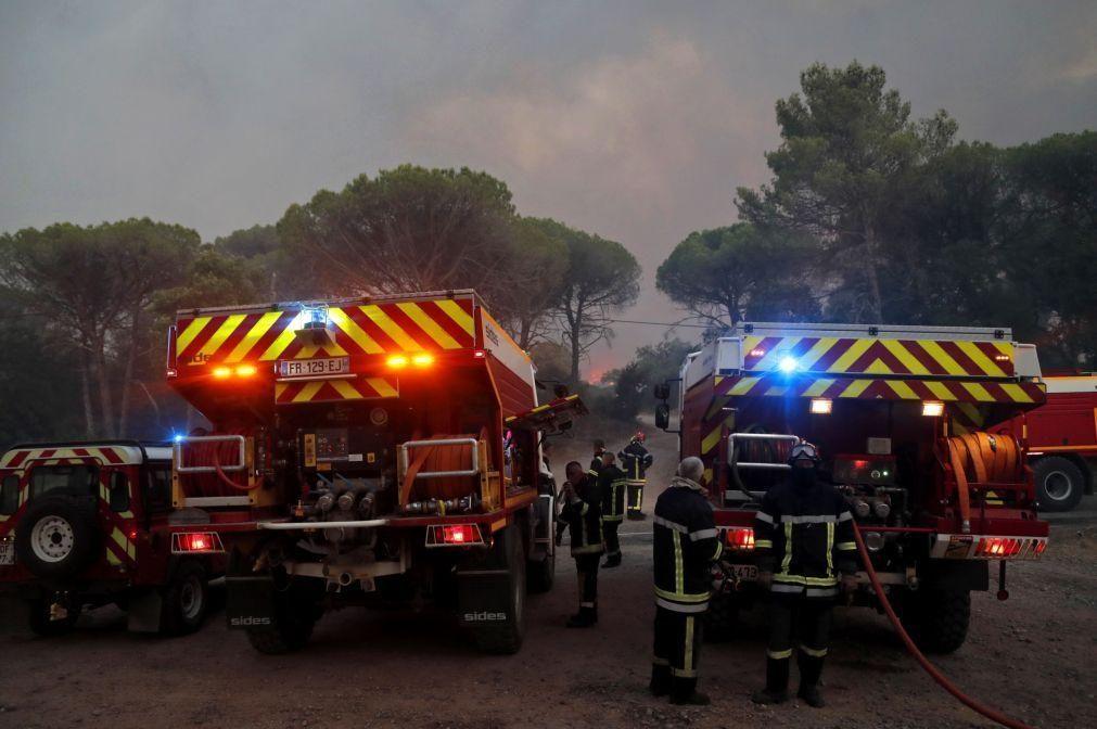 Pelo menos um morto no incêndio no sudeste de França