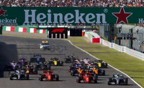 Grande Prémio do Japão de Fórmula 1 cancelado