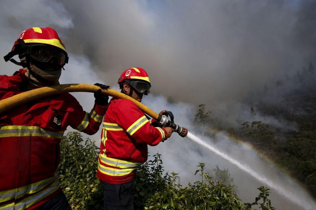 Dominados dois dos três fogos que deflagraram no domingo em Mangualde