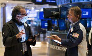 Wall Street segue em terreno misto à espera das atas da Reserva Federal