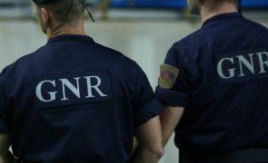 GNR desaconselha circulação na ER266 devido a fogo em Odemira