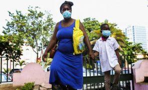 Covid-19: Angola regista 211 novos casos e sete óbitos nas últimas 24 horas