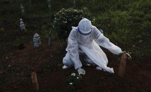 Covid-19: África com mais 862 mortes e mais de 43 mil casos em 24 horas