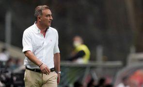Carlos Carvalhal diz que Sporting de Braga está