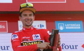 Vuelta: Magnus Cort Nielsen vence sexta etapa e Roglic é líder