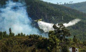 Incêndios: Fogo em Odemira consumiu área estimada em 1.100 hectares