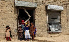 Milhões de crianças no sul da Ásia estão em risco devido à crise climática