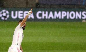 Karim Benzema renova por mais duas épocas e até 2023 com o Real Madrid