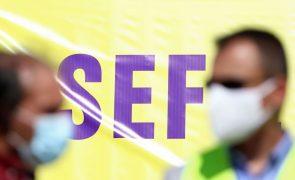 Trabalhadores do SEF em greve parcial admitem