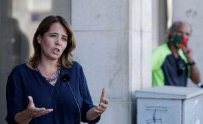 Bloco quer garantir apoio a trabalhadores precários despedidos na pandemia -- Catarina Martins