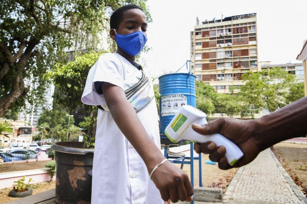 Covid-19: Angola soma mais cinco mortes e 258 novos casos em 24 horas