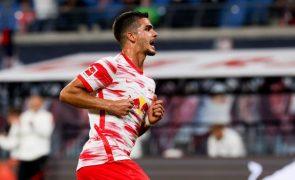 André Silva estreia-se a marcar pelo Leipzig em goleada ao Estugarda