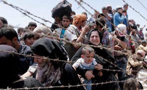 Turquia diz já ter recusado este ano mais de 280 mil migrantes e refugiados