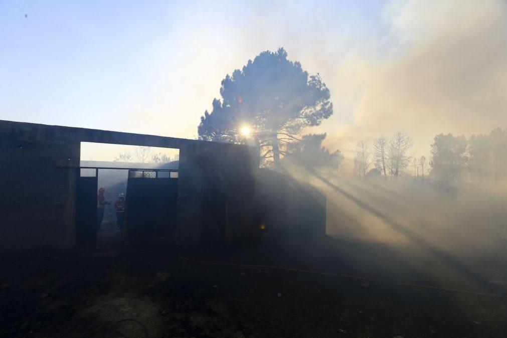 Exército reforça com 250 militares apoio a vigilância e rescaldo dos incêndios