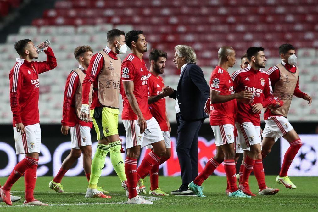LC: Benfica procura capitalizar triunfo e garantir 'milhões' em Eindhoven