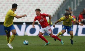 Benfica comunica saída de Waldschmidt para o Wolfsburgo