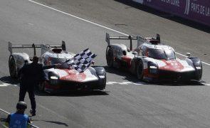 'Dobradinha' da Toyota em Le Mans em prova azarada dos portugueses
