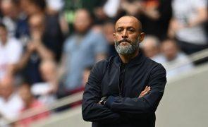 Tottenham e Nuno Espírito Santo vencem em 'confronto' de treinadores portugueses