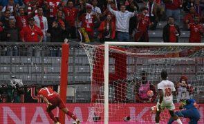 Bayern Munique estreia-se a vencer frente ao Colónia na Bundesliga 2021/22