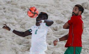 Portugal perde com Senegal no Mundial de futebol de praia