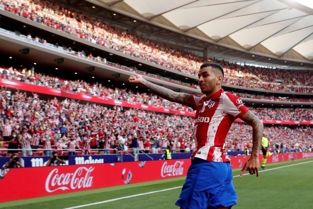 Correa volta a decidir para o Atlético de Madrid