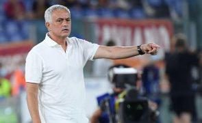 José Mourinho estreia-se com triunfo ao serviço da Roma na liga italiana