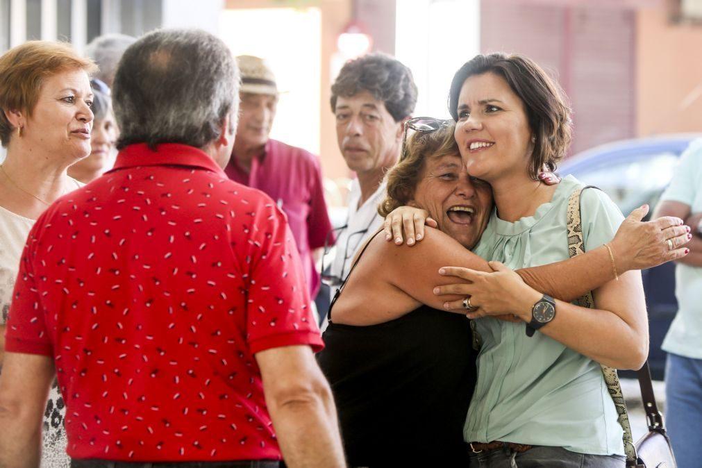 Cristas acusa Governo de incompetência com SIRESP e falha na chegada de doações a populações