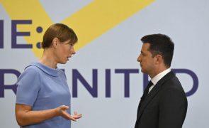 Presidente da Ucrânia anuncia