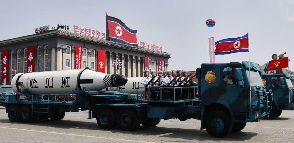UE ameaça Pyongyang com novas sanções