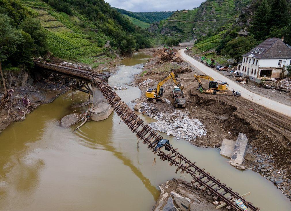 Aquecimento global agravou inundações na Alemanha e Bélgica, diz estudo