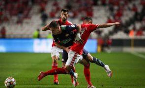 LC: Benfica procura confirmar em Eindhoven fase grupos 'milionária'