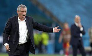 Mundial2022: Fernando Santos anuncia primeira convocatória pós-Euro2020