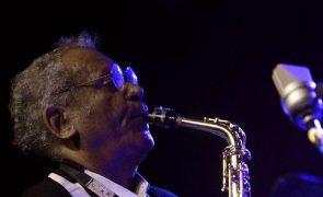 Saxofonista Anthony Braxton em novembro no Teatro do Bairro Alto