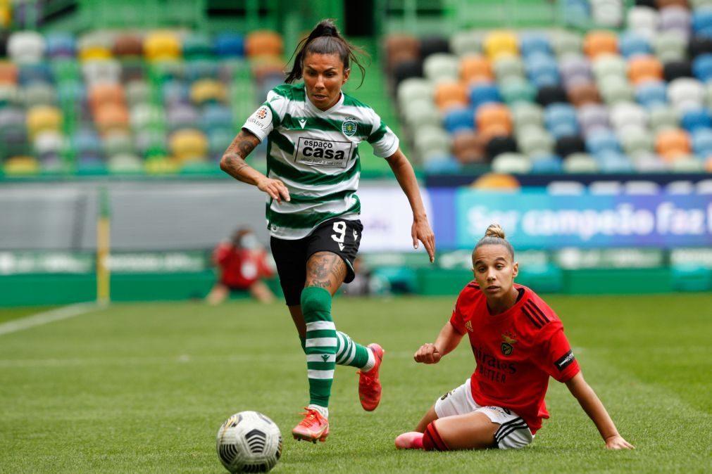 Capitã do futebol feminino do Sporting assume desejo de