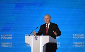 Putin garante que Rússia não intervirá militarmente no Afeganistão