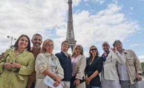 Cristina Ferreira viaja até Paris para fazer surpresa a atores [vídeo]