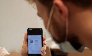 Covid-19: Cerca de 6,5 milhões de certificados digitais emitidos em Portugal