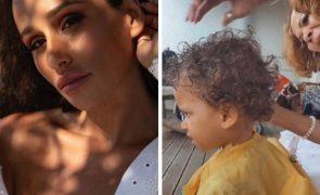 Mãe de Angélico Vieira corta cabelo ao filho de Rita Pereira [vídeo]