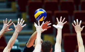Sinfrónio e José Pedro Andrade nos 'eleitos' de Portugal para o Europeu de voleibol